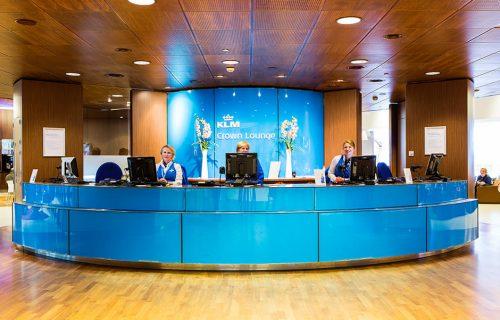 * KLM ICA Lounge Schiphol. Als directeur Installatietechniek ULC.