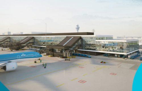Uitbreiding luchthaven Schiphol met G-Pier en de passagiersterminal (1990 t/m 1993). Rol projectmanager.